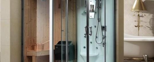 Stoomcabine met sauna