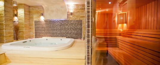 Een moderne sauna met een hip design bij je thuis
